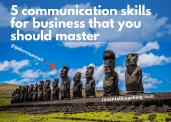 5 communication skills for business that you should master
