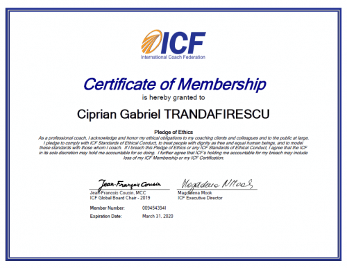 International Coaching Federation Membership